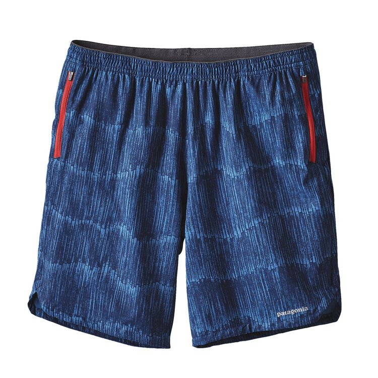 M'S NINE TRAILS SHORTS, Barky Bark: Navy Blue (BBNV)