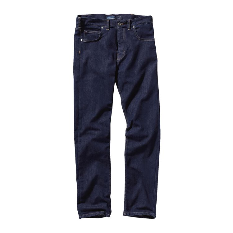 M'S PERFORMANCE STRAIGHT FIT JEANS - LON, Dark Denim (DDNM)