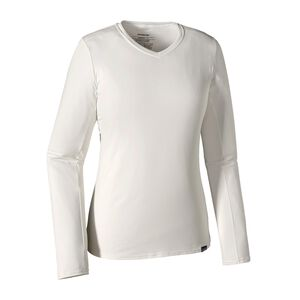 W's Long-Sleeved Capilene® Daily T-Shirt, White (WHI)