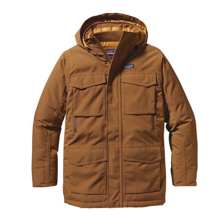 M'S THUNDER CLOUD DOWN PARKA, Bear Brown (BRBN)