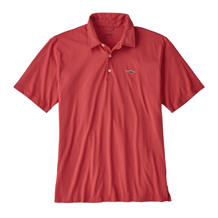 M'S POLO - TROUT FITZ ROY, Static Red (STTR)