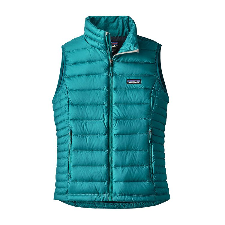 W'S DOWN SWEATER VEST, Elwha Blue (ELWB)