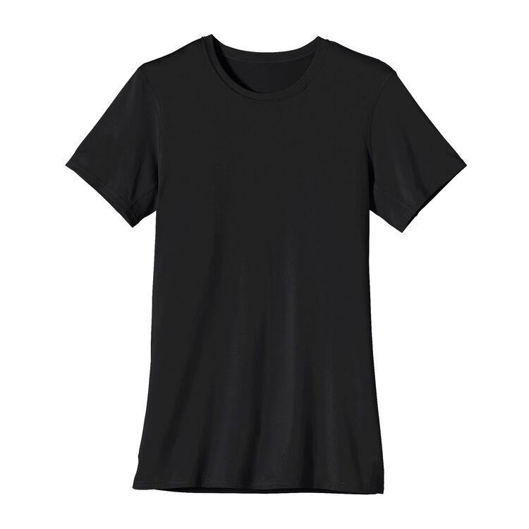 W'S CAP TEAM T-SHIRT, Black (BLK)