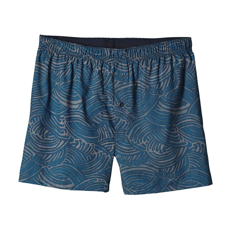 M'S GO-TO BOXERS, Water Maker: Glass Blue (WTGB)