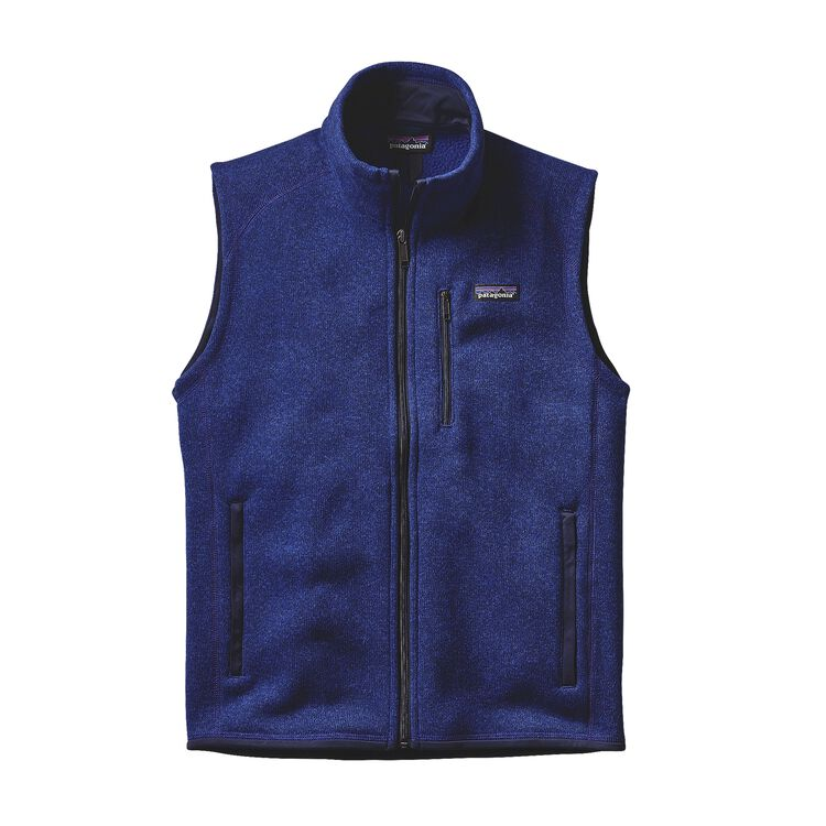 M'S BETTER SWEATER VEST, Harvest Moon Blue (HMB)