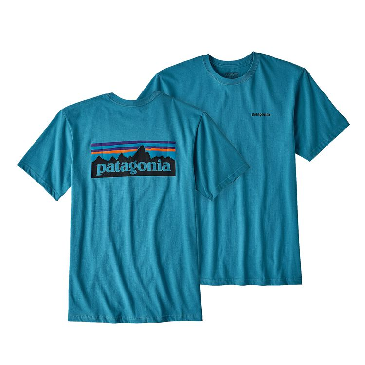 M'S P-6 LOGO COTTON T-SHIRT, Filter Blue (FLTB)