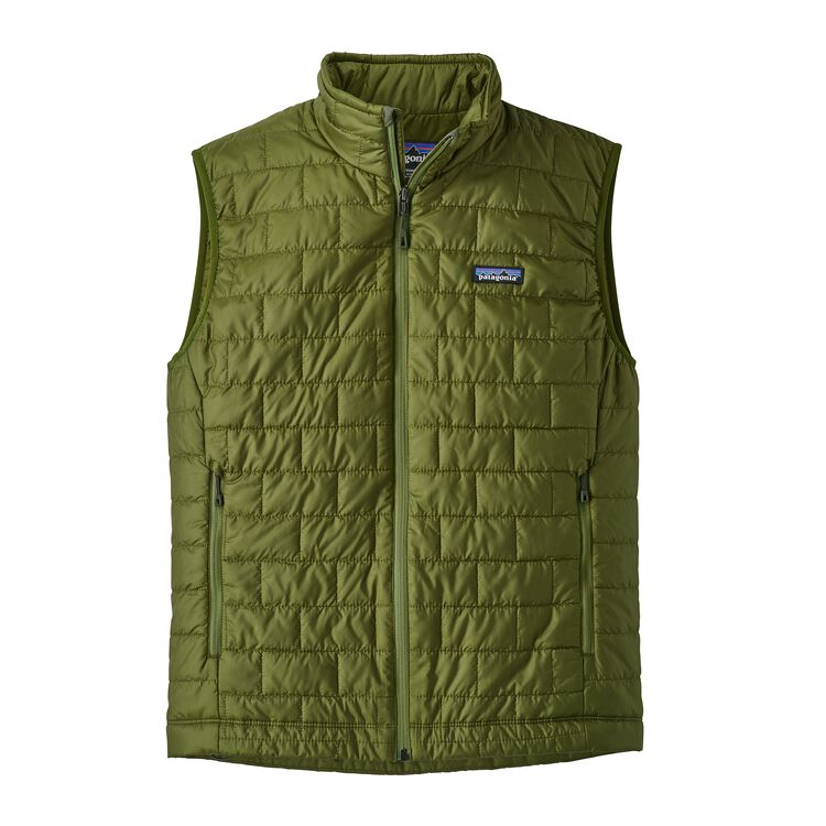 M'S NANO PUFF VEST, Sprouted Green (SPTG)