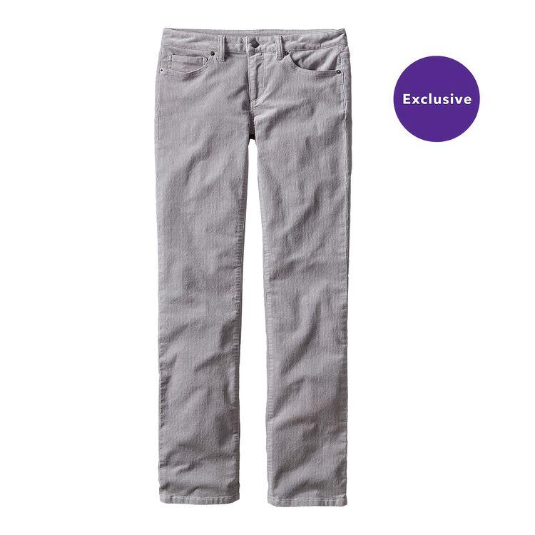 W'S CORDUROY PANTS - REG, Drifter Grey (DFTG)