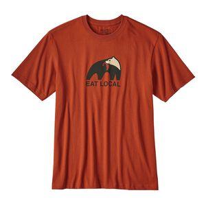 メンズ・イート・ローカル・アップストリーム・コットン・Tシャツ, Roots Red (RTSR)