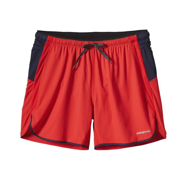 M'S STRIDER PRO SHORTS - 5 IN., French Red (FRR)
