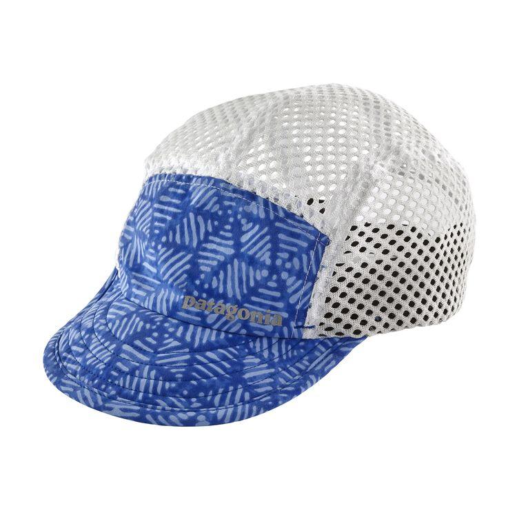 DUCKBILL CAP, Batik Hex Big: Imperial Blue (BAIP)