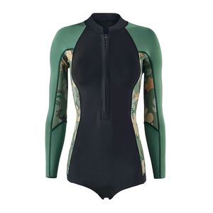 W's R1® Lite Yulex™ Long-Sleeved Spring Jane, Cloudbreak Small: Hemlock Green (CDHG)