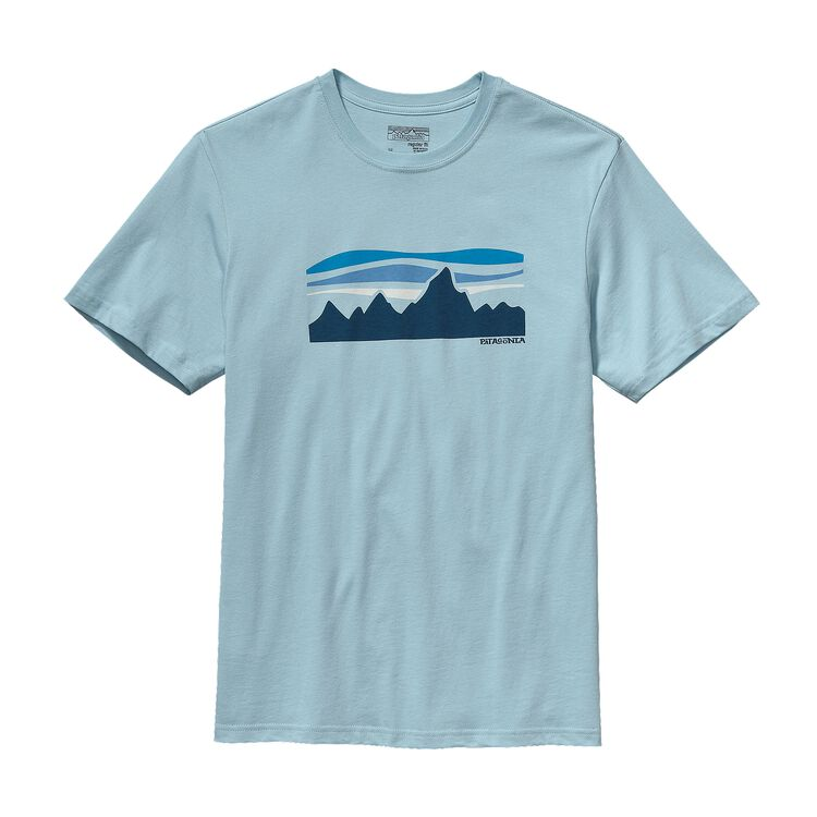 M'S FITZ ROY BANNER COTTON T-SHIRT, Tubular Blue (TUBL)