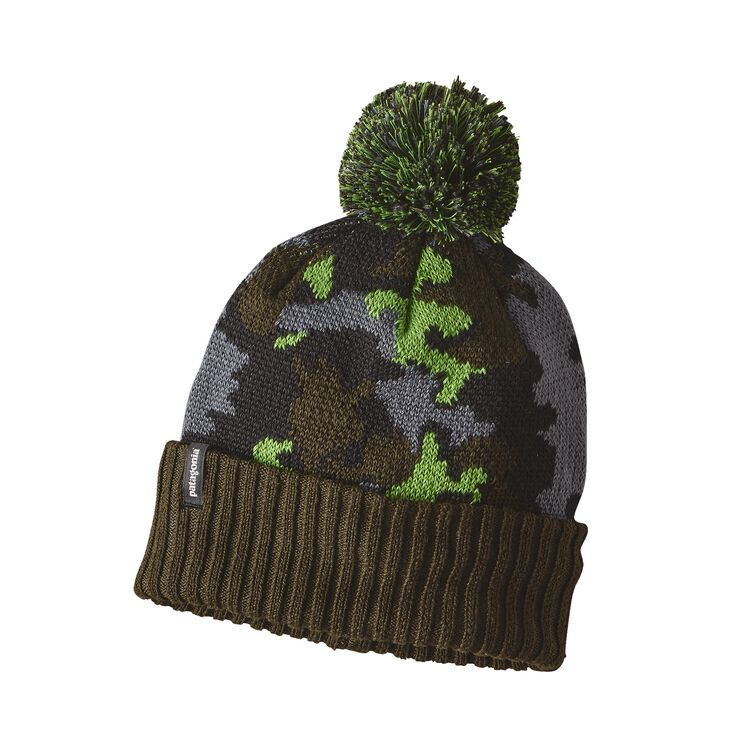 K'S POWDER TOWN BEANIE, Sycamore Camo: Industrial Green (SYIG)