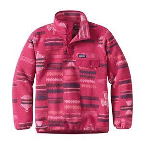 ガールズ・ライトウェイト・シンチラ・スナップT・プルオーバー, River Tribe: Craft Pink (RVCP)