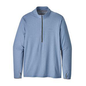 M's Tropic Comfort 1/4-Zip, Railroad Blue (RBE)