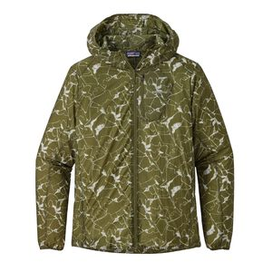 M's Houdini Jacket, Rock Jigsaw: Sprouted Green (ROJW)