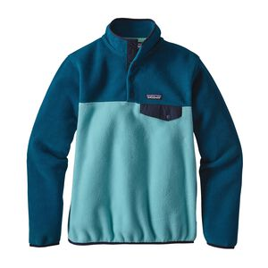 W's Lightweight Synchilla® Snap-T® Pullover, Cuban Blue (CUBB)