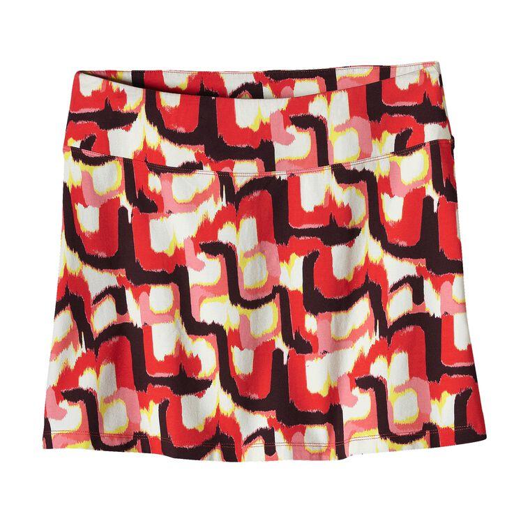ウィメンズ・タイダル・スカート, Zari Skirt: Coral (ZCRL-380)