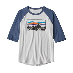 Boys' 1/2-Sleeve Graphic Tee, White w/Dolomite Blue (WDOB)
