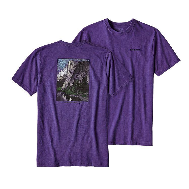 メンズ・エルキャプ・クラシック・コットン/ポリ・レスポンシビリティー, Purple (PUR)