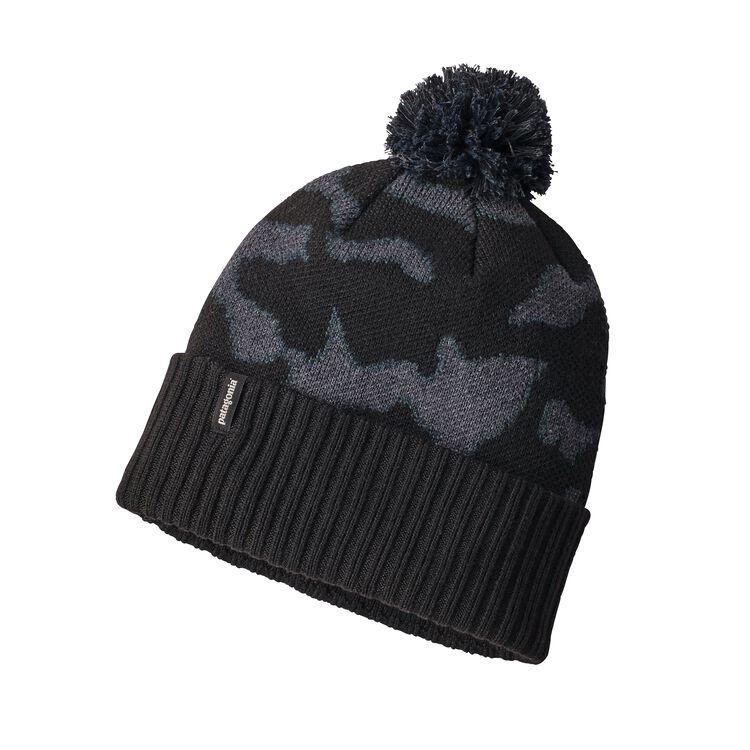 パウダー・タウン・ビーニー, Aerial Camo Hat: Black (ACHB)