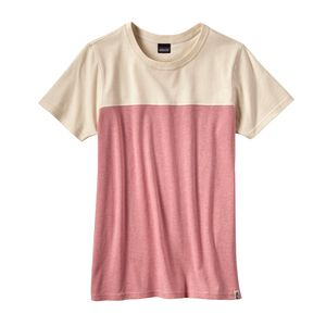 W's Clean Color Block Tee, Clean Carmine Pink (CRMP)