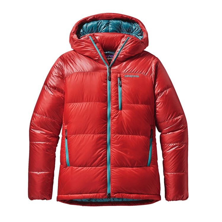 W'S FITZ ROY DOWN PARKA, French Red (FRR)