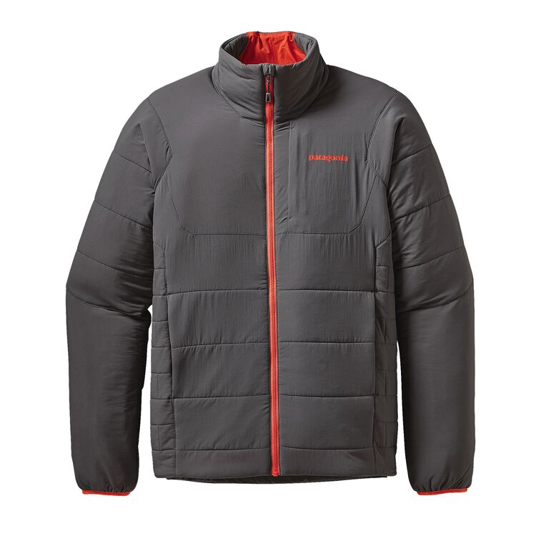 M'S NANO-AIR JKT, Forge Grey w/Cusco Orange (FGCO)