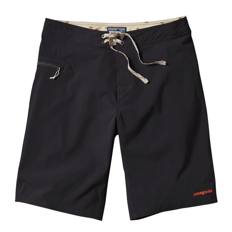 M'S STRETCH WAVEFARER BOARD SHORTS - 21, Black w/El Cap Khaki (BKEK)