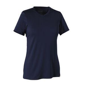 ウィメンズ・キャプリーン・デイリー・Tシャツ, Navy Blue (NVYB)