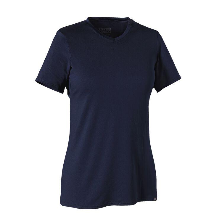 W'S CAP DAILY T-SHIRT, Navy Blue (NVYB)