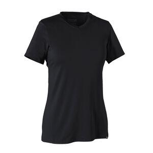 ウィメンズ・キャプリーン・デイリー・Tシャツ, Black (BLK)
