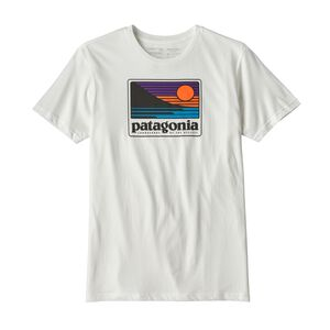 M's Up & Out Organic Cotton T-Shirt, White (WHI)