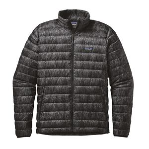 M's Down Sweater Jacket, Forestland: Black (FOBK)