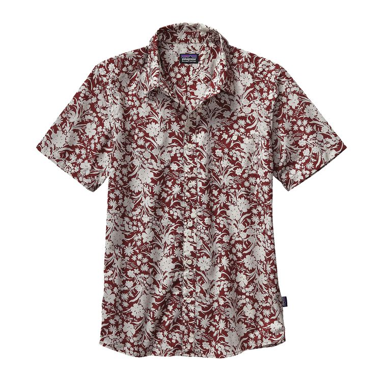 M'S GO TO SHIRT, Free Lei: Drumfire Red/Birch White (FDBW)