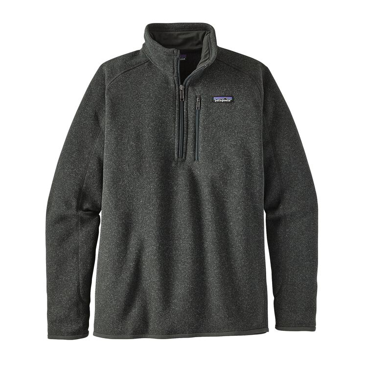 M'S BETTER SWEATER 1/4 ZIP, Carbon (CAN)