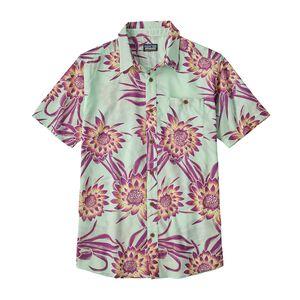 M's Go To Shirt, Cereus Flower: Lite Bend Blue (CEUL)