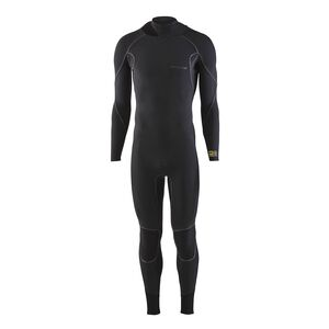 M's R3™ Yulex™ Back-Zip Full Suit, Black (BLK)