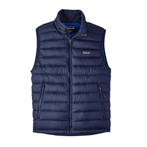 M's Down Sweater Vest, Navy Blue w/Navy Blue (NVNV)