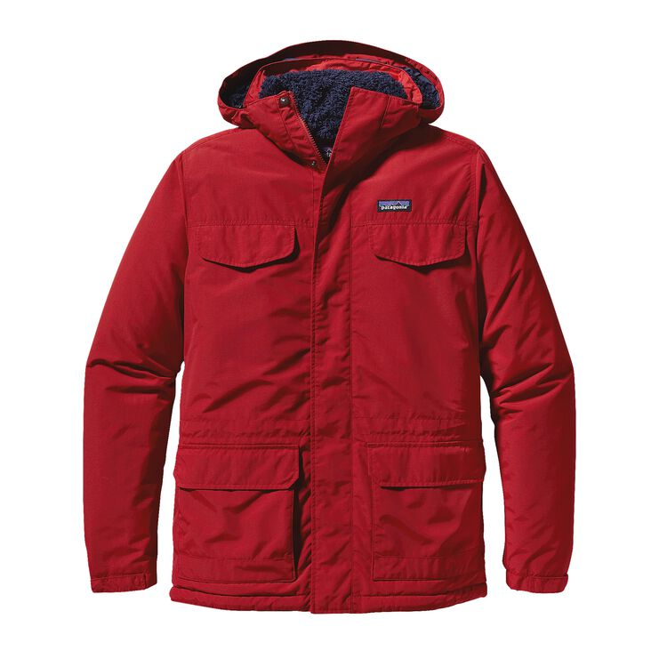 M'S ISTHMUS PARKA, Classic Red (CSRD)