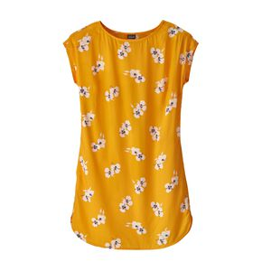 W's June Lake Dress, Mariposa Lily: Rugby Yellow (MALR)
