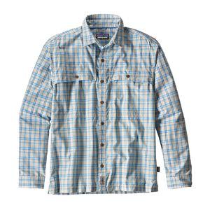 M's Long-Sleeved Island Hopper II Shirt, Amberjack: Radar Blue (AJRD)