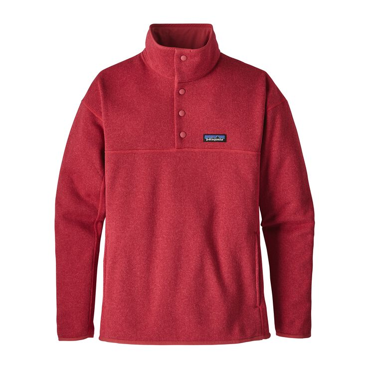 W'S LW BETTER SWEATER MARSUPIAL P/O, Static Red (STTR)