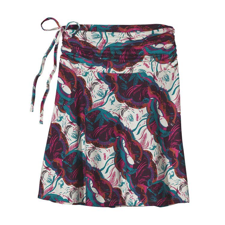 ウィメンズ・リチア・スカート, Deep Sea Skirt: Radiant Magenta (DSMG-228)