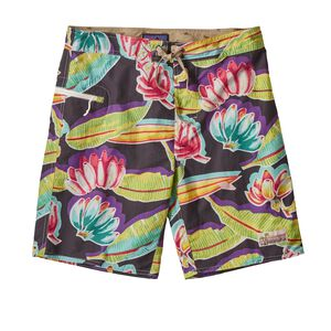 "M's Wavefarer™ Board Shorts - 19"", '88 Bananas: Black (BANB)"