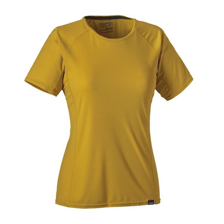 W'S CAP LW T-SHIRT, Sulphur Yellow (SULY)