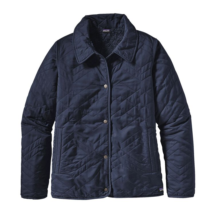 W'S QUILTED LOS GATOS JKT, Navy Blue (NVYB)