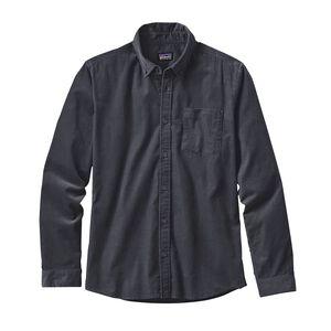 メンズ・ロングスリーブ・ブラフサイド・コード・シャツ, Forge Grey (FGE)