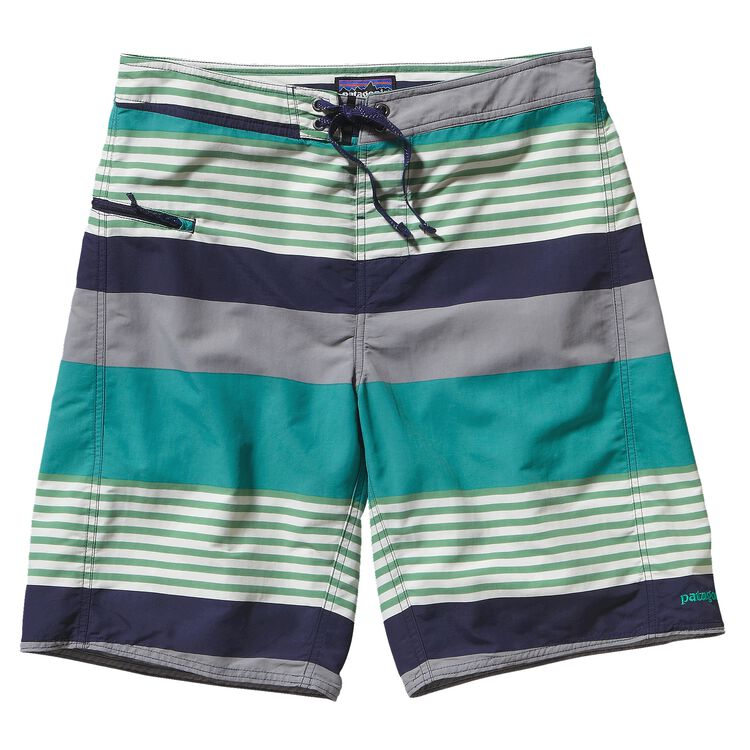 M'S WAVEFARER ENGINEERED BOARD SHORTS -, Fitz Stripe: Navy Blue (FINV)